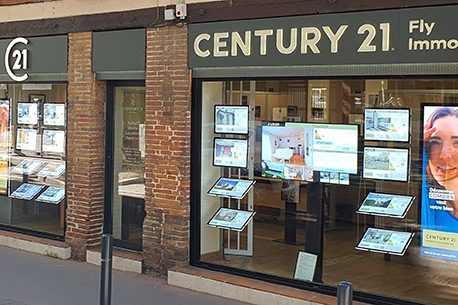 Agence immobilière CENTURY 21 Fly Immo, 31300 TOULOUSE